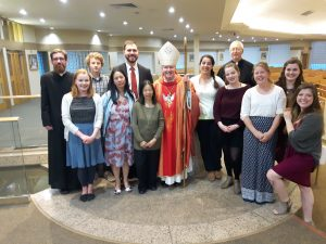 Online Mass Services - Papal Ministry at Holy Spirit Parish in Calgary